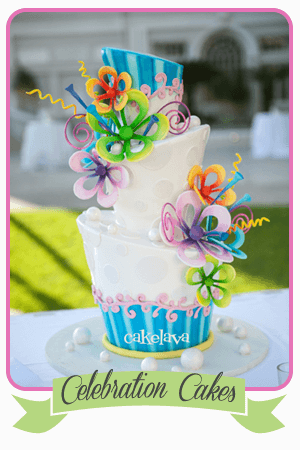 cakelava Las Vegas celebrations and birthday cakes portfolio