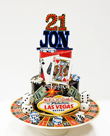 Amazing Custom Birthday Cakes In Las Vegas Cakelava Funny Birthday Cards Online Fluifree Goldxyz