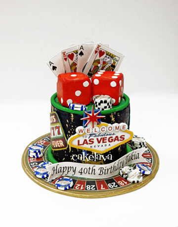 Custom Birthday Cakes in Las Vegas | cakelava
