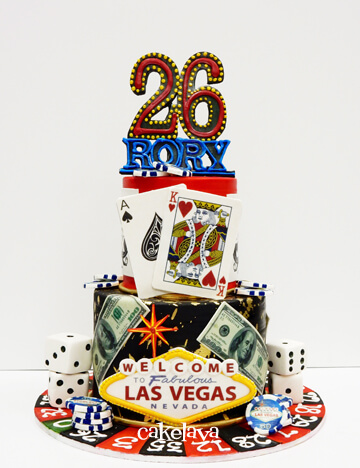 Custom Birthday Cakes In Las Vegas Cakelava