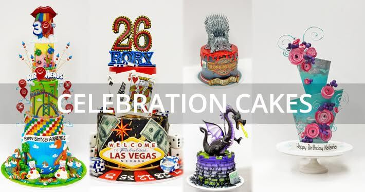 cakelava Las Vegas custom birthday cakes and celebration cakes