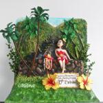 vintage Hawaii cake