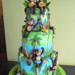 monkeys cake