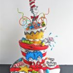 Dr. Seuss cake 2 tier