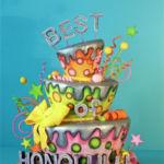 Best of Honolulu Magazine cake