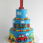 cars kids cake