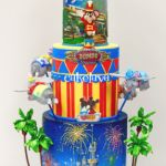 themed celebration cake