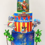 themed celebration cake