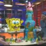 Food Network Challenge Spongebob Birthday Cakes