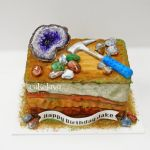 geologist cake