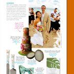 cakelava hibiscus cake in Get Married Magazine