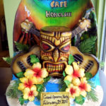 Hard Rock Waikiki tiki cake