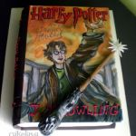 Harry Potter book cake
