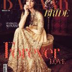 Harpers Bazaar bride cover