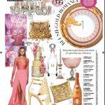 Harpers Bazaar Bride cake layout