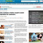 cakelava Honolulu Advertiser article