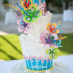 Kate - wonky birthday cake
