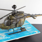 Kiowa warrior helicopter sculpted cake