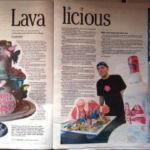 Lavalicious Honolulu Star Bulletin article