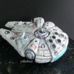 Star Wars Millennium Falcon cake - other view