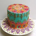 Moroccan theme cake