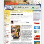 cakelava in MidWeek magazine