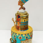 Nefertiti themed cake