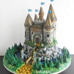Las Vegas, custom Midieval castle cake
