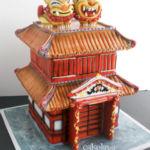 Okinawan themed cake
