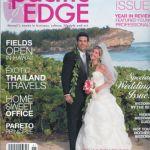 Pacific Edge Magazine cover cakelava