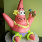 Patrick star Spongebob cake