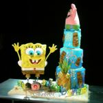 Spongebob cake for Food Network TV show