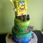 Spongebob fun cake