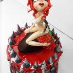 Sexy Redhead cake